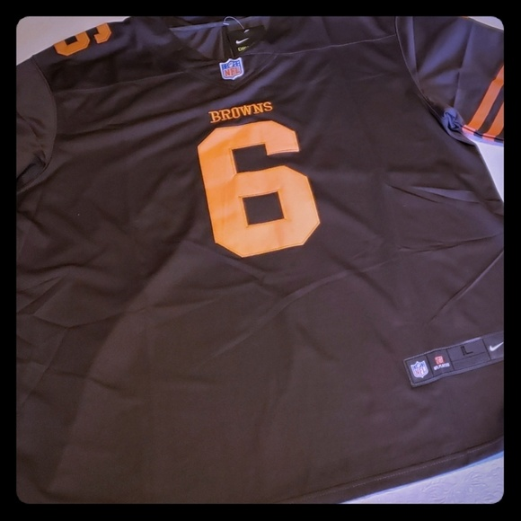 watch 380ac f6b49 Baker Mayfield Browns Color Rush Jersey